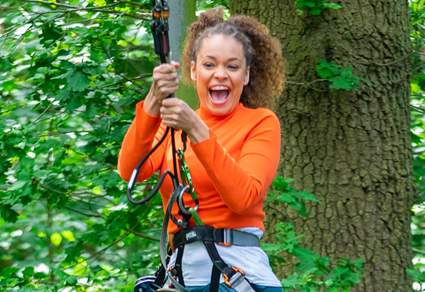 Treetop Challenge Experience Adult (16/17 and 18+).